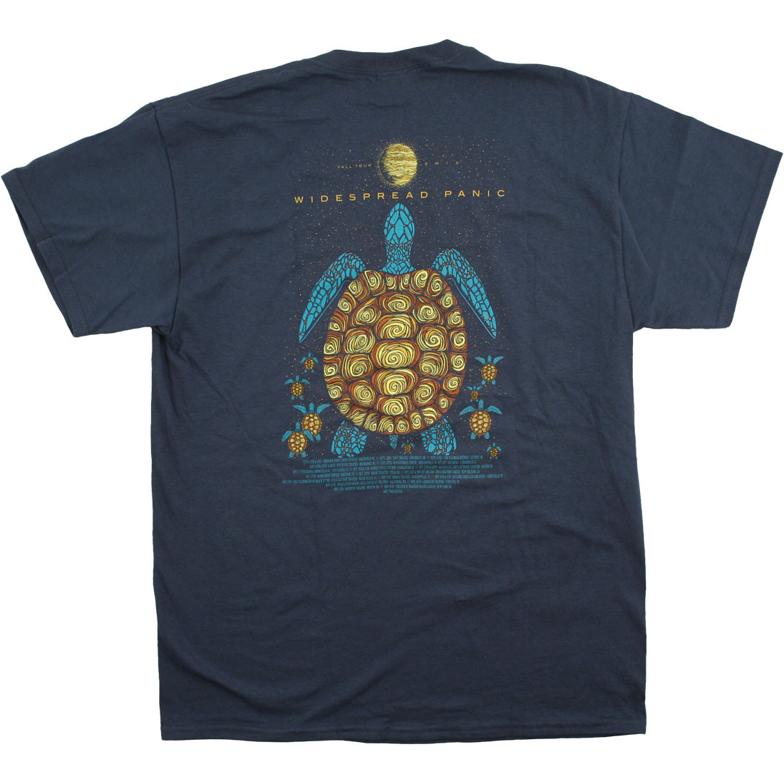 Widespread Blue Turtle Navy T-Shirt