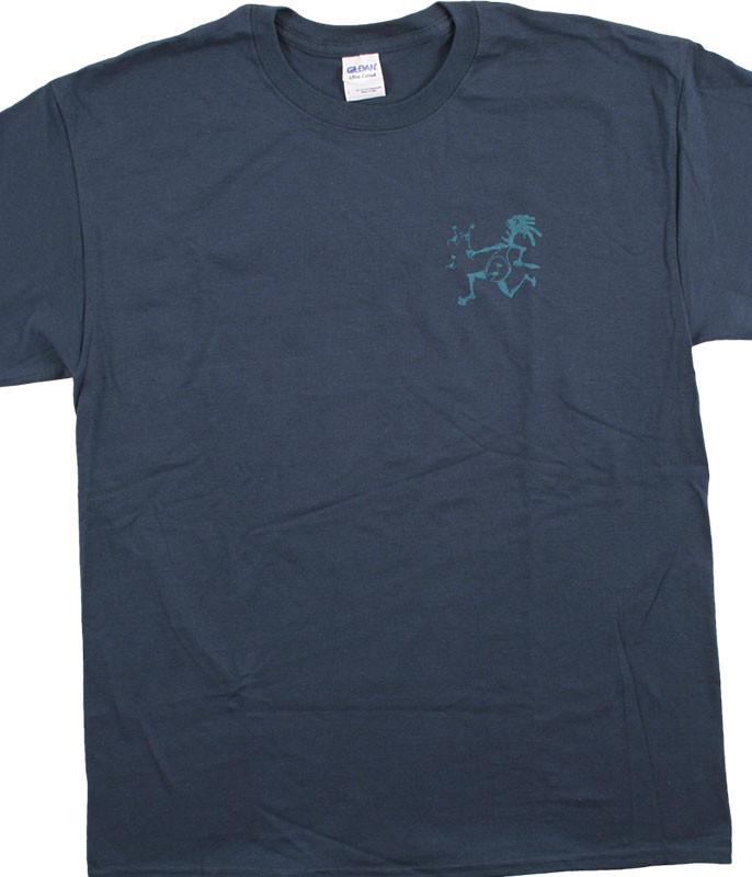 Widespread Panic Note Eater Navy T-Shirt Tee