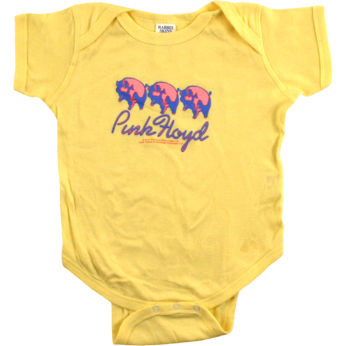 PF Three Pigs Yellow Onesie