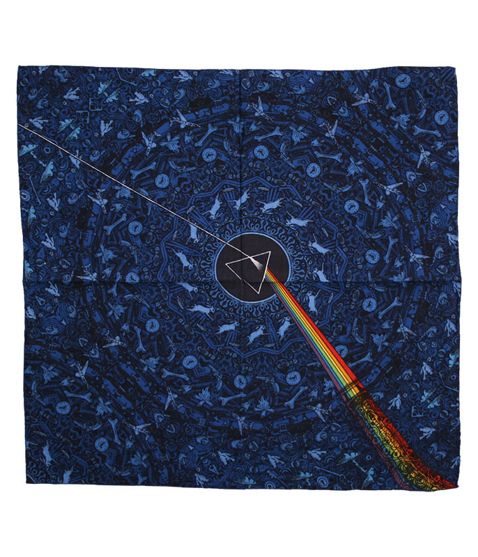 PF Dark Side Lyric Blue Bandana