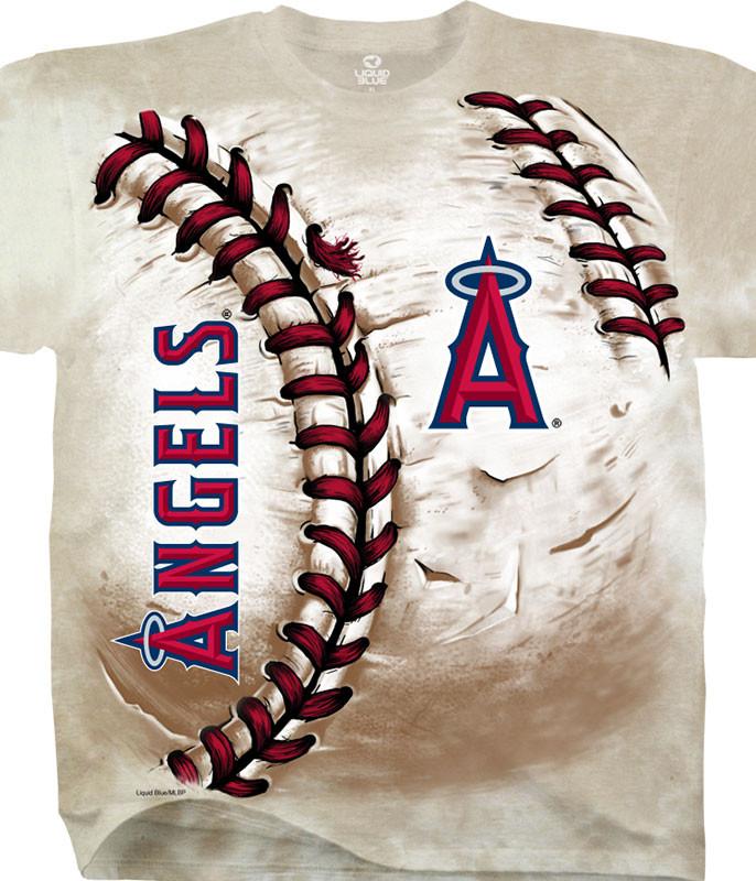 Los Angeles Angels Hardball Tie-Dye T-Shirt