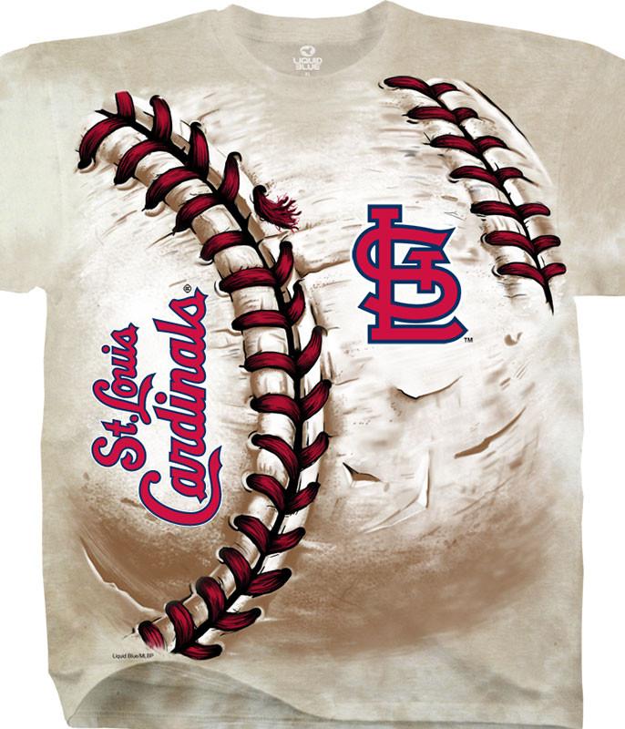 St. Louis Cardinals Hardball Tie-Dye T-Shirt