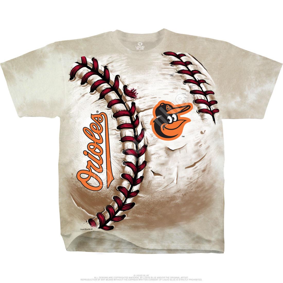 Baltimore Orioles Hardball Tie-Dye T-Shirt