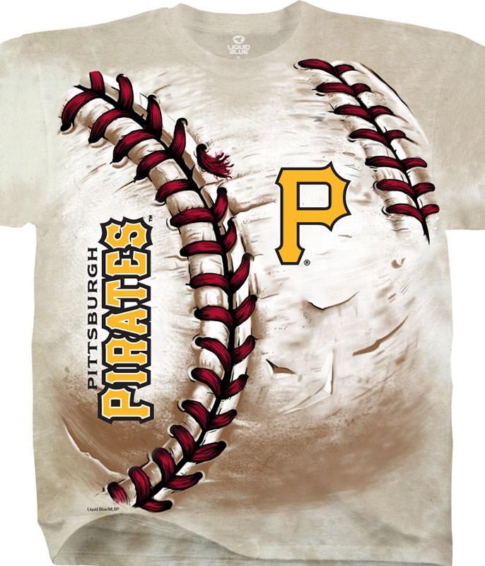 Pittsburgh Pirates Hardball Tie-Dye T-Shirt