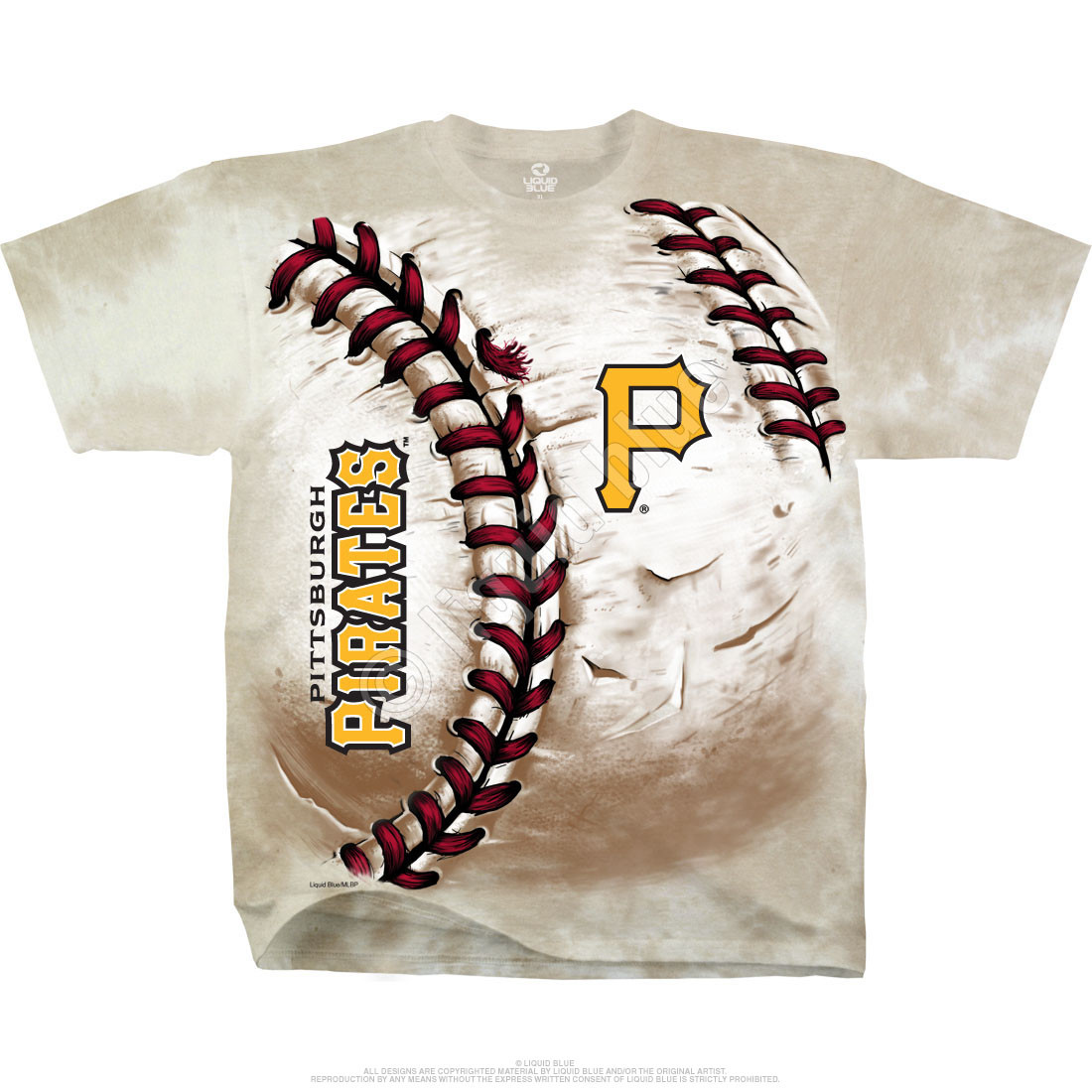 Pittsburgh Pirates Hardball Tie-Dye T-Shirt