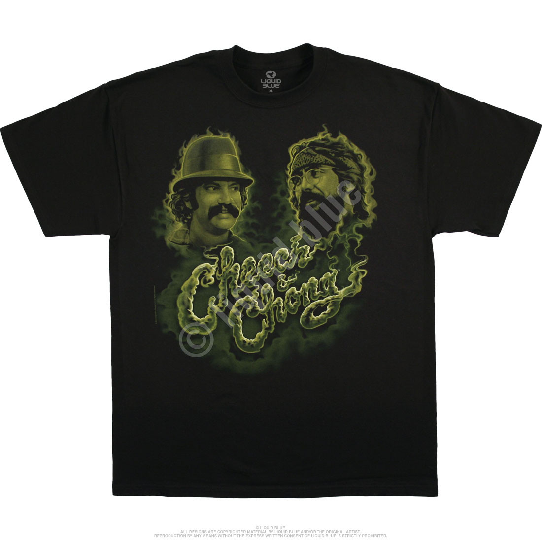 Green Smoke Black T-Shirt