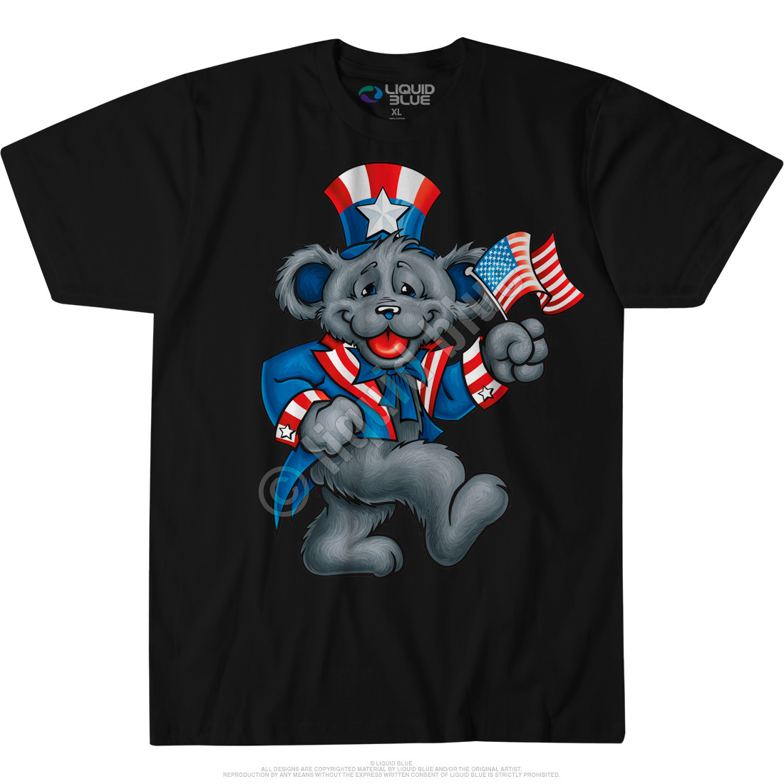 Wave That Flag Custom T-Shirt