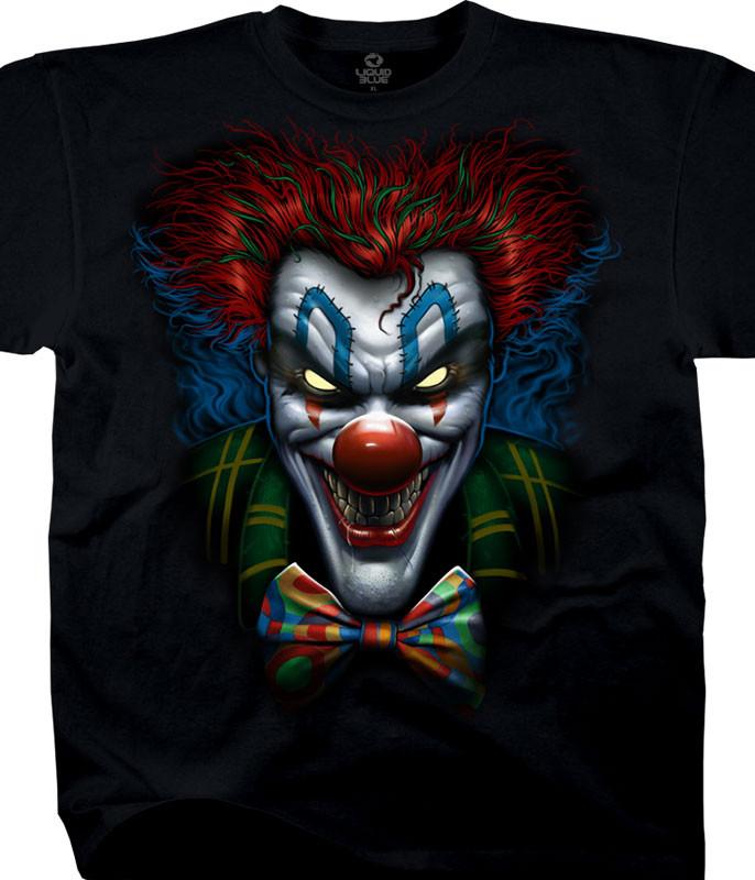 Bow Tie Clown Black T-Shirt