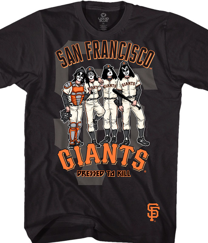 San Francisco Giants Dressed to Kill Black T-Shirt