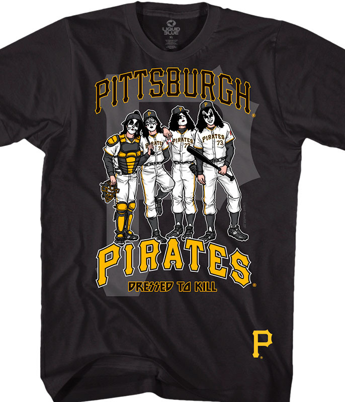 Pittsburgh Pirates Dressed to Kill Black T-Shirt
