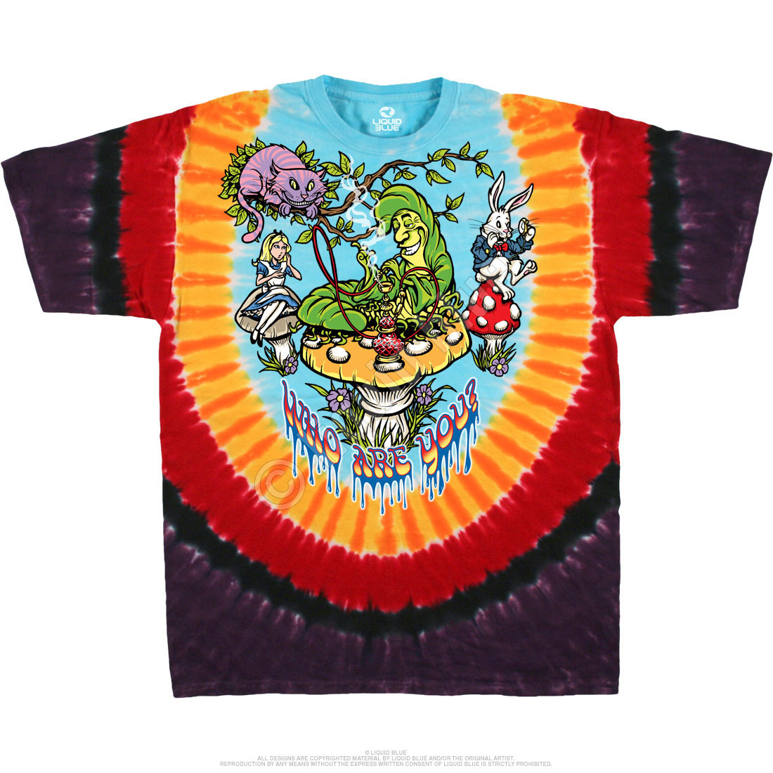 All Mad Here Tie-Dye T-Shirt