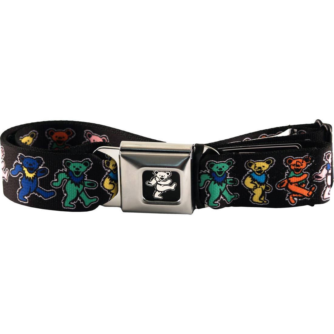 Dancing Bear Seatbelt Belt Black