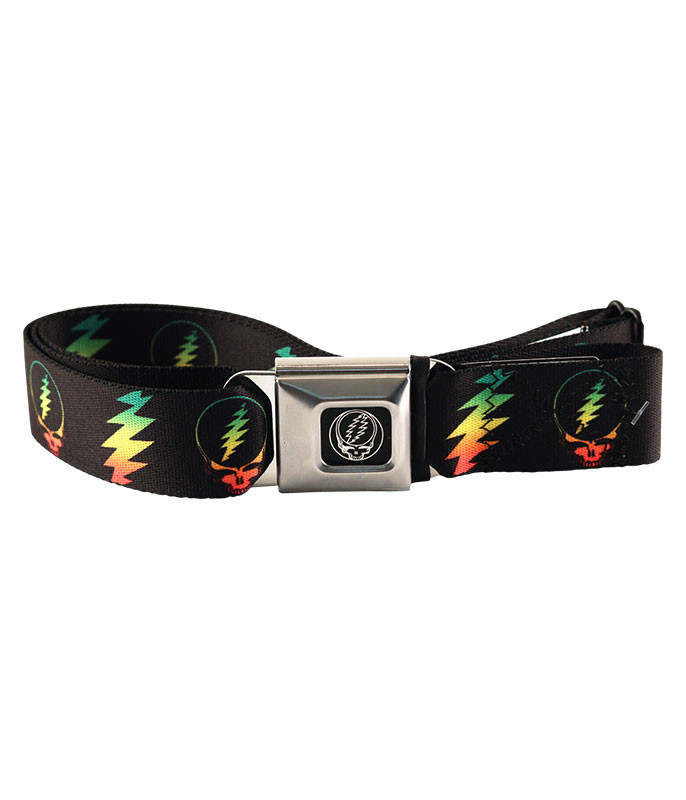 RASTA SYF BOLT SEATBELT BELT BLACK