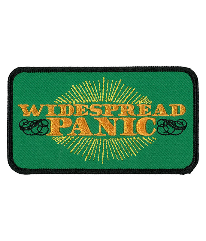 Widespread Panic Sunburst Patch