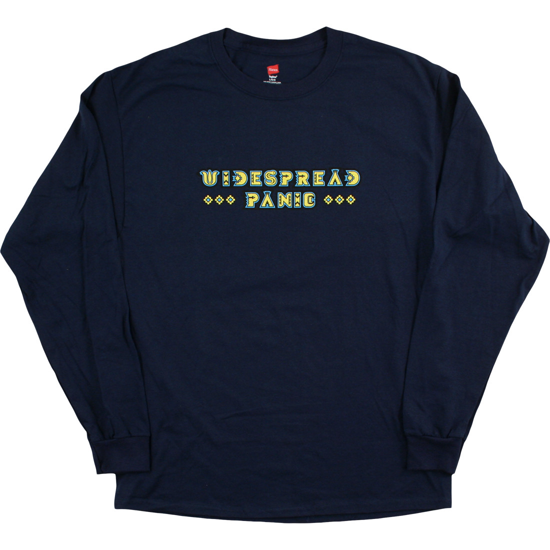 Widespread Rainsong Navy Long Sleeve T-Shirt