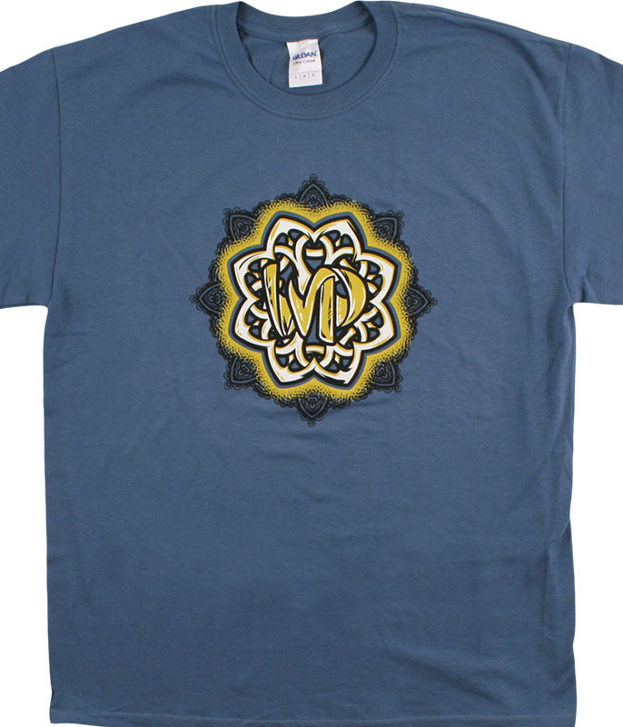 Widespread Panic Celtic Knot Blue T-Shirt Tee