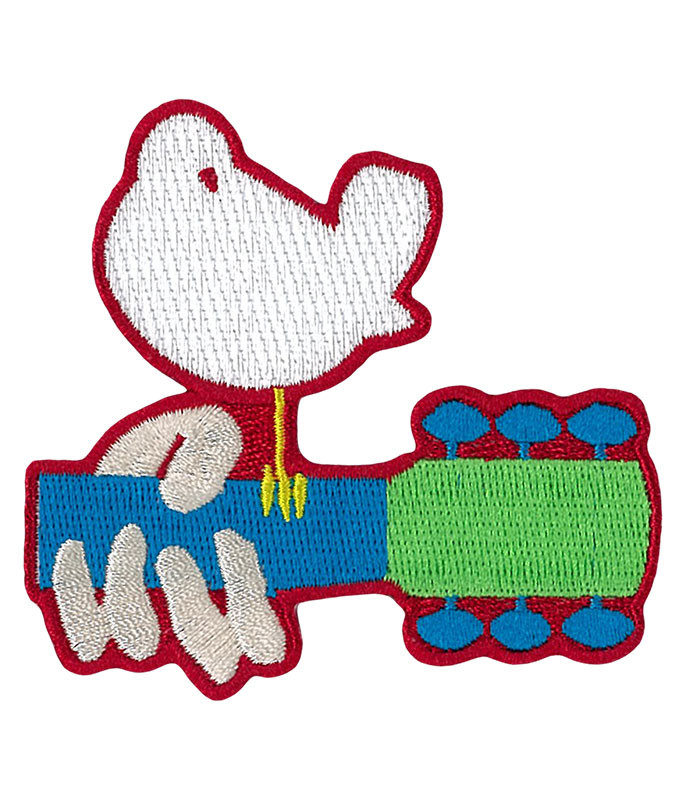 WOODSTOCK DOVE GUITAR PATCH