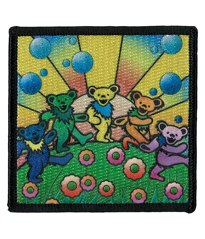 Grateful Dead GD Bears Utopia Patch