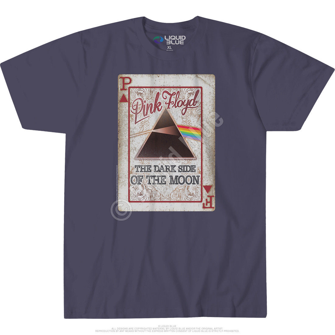 Dark Side Deck Grey Athletic T-Shirt