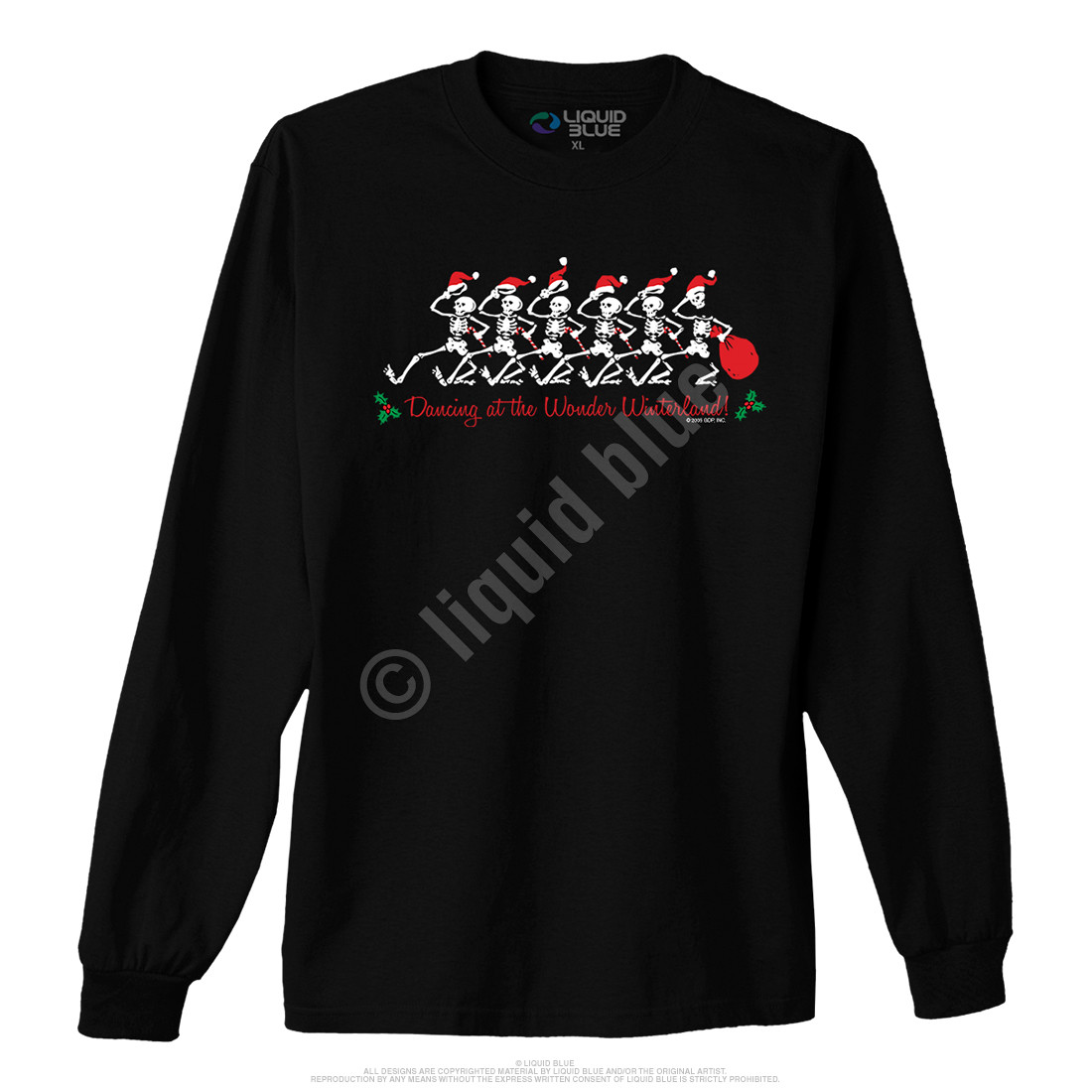Wonder Winterland Black Long Sleeve T-Shirt