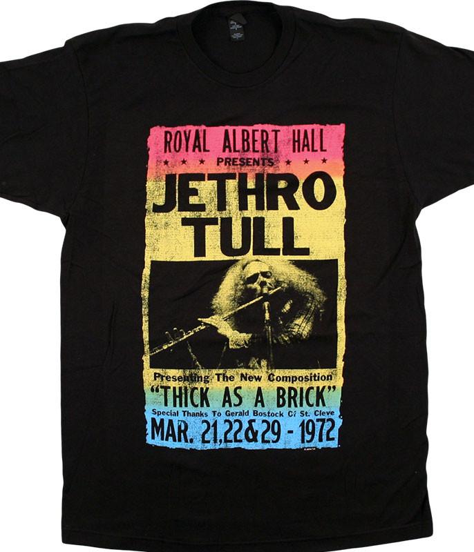 Jethro Tull Royal Albert Hall Black T-Shirt