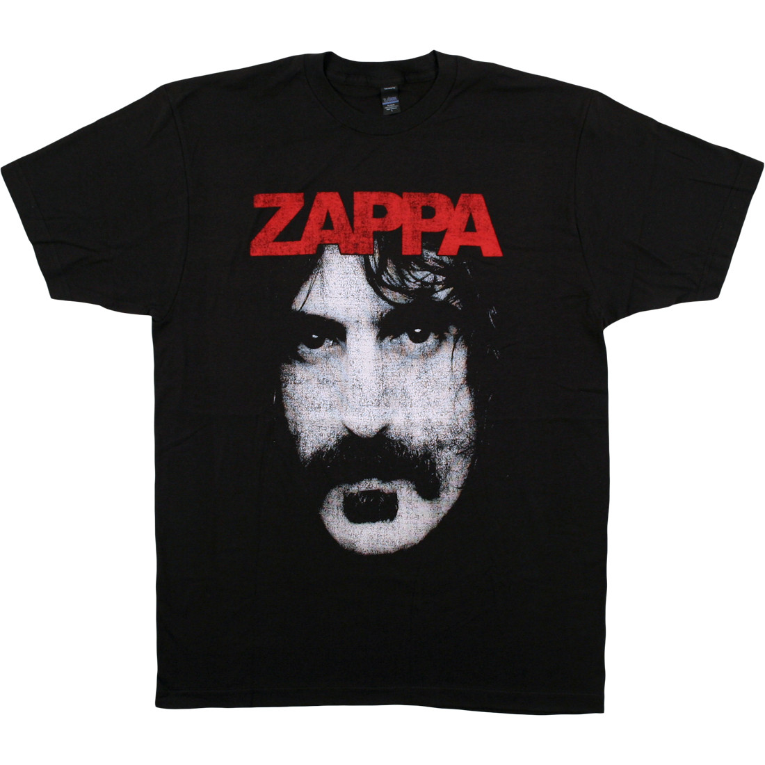 Frank Zappa Face Black T-Shirt