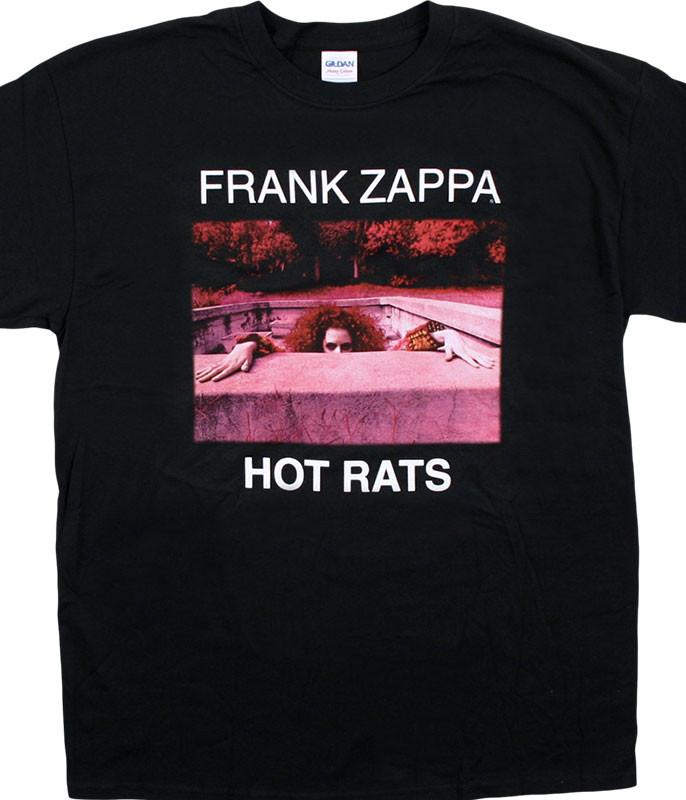 Frank Zappa Hot Rats Black T-Shirt