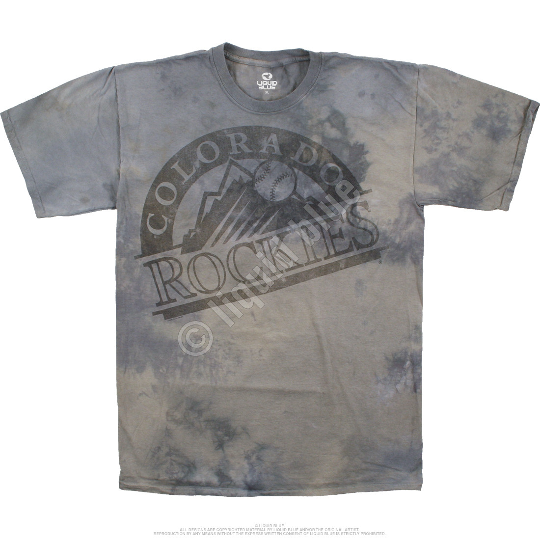 Colorado Rockies Tonal Tie-Dye T-Shirt - Clearance 30% OFF