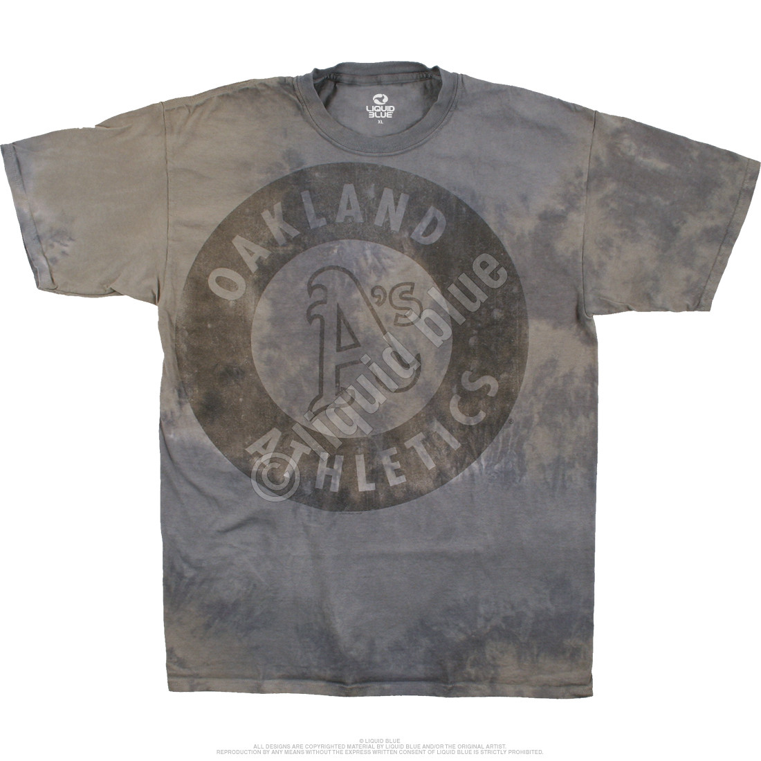 Oakland Athletics Tonal Tie-Dye T-Shirt - Clearance 30% OFF