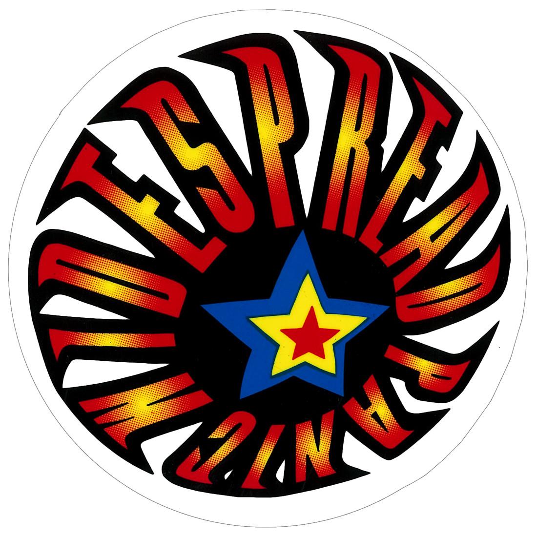 Widespread Panic Fireball Sticker