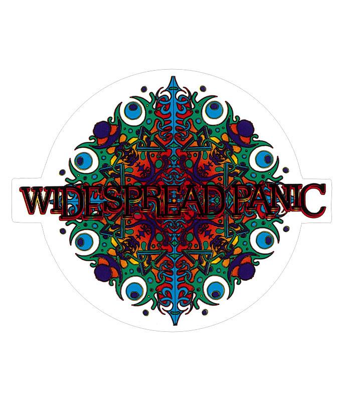 Widespread Panic Snowflake Sticker