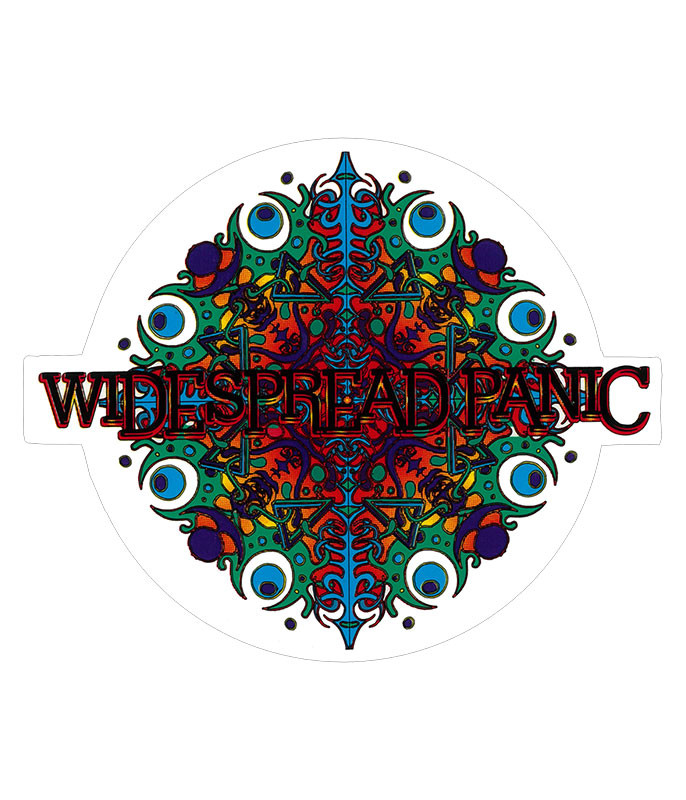 Widespread Panic Snowflake Sticker