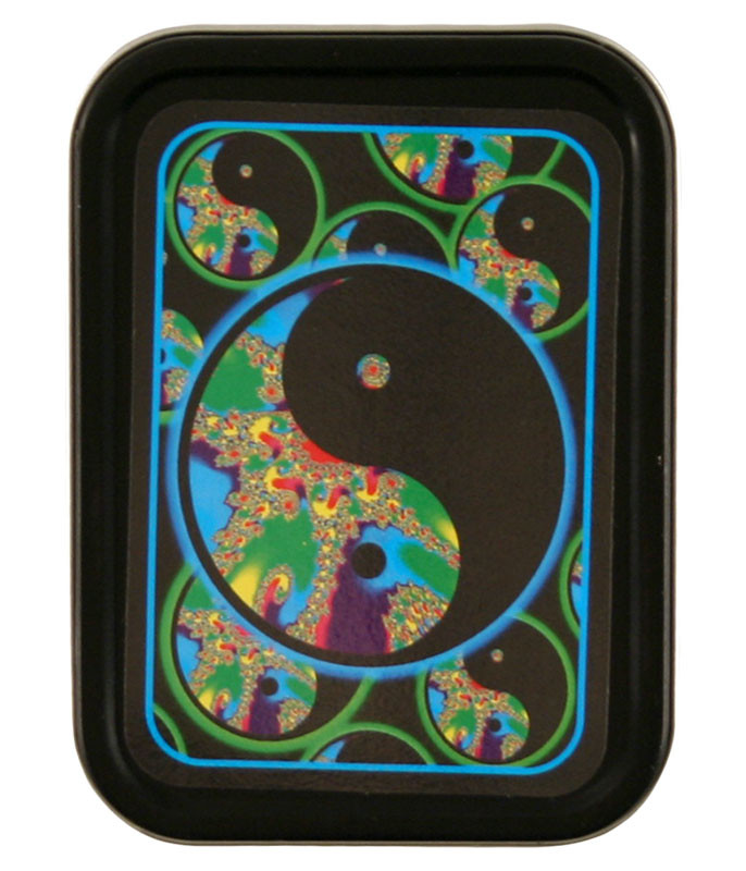 Yin Yang Fusion Stash Tin Liquid Blue