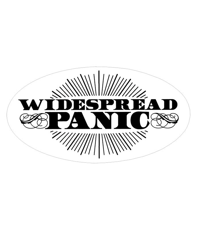 WIDESPREAD PANIC SUNBURST STICKER