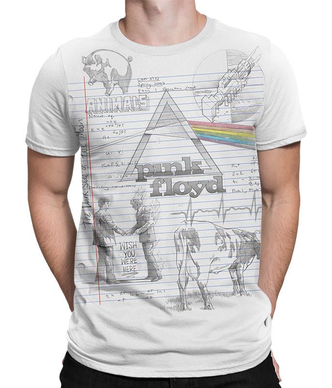 Floyd Sketch White T-Shirt