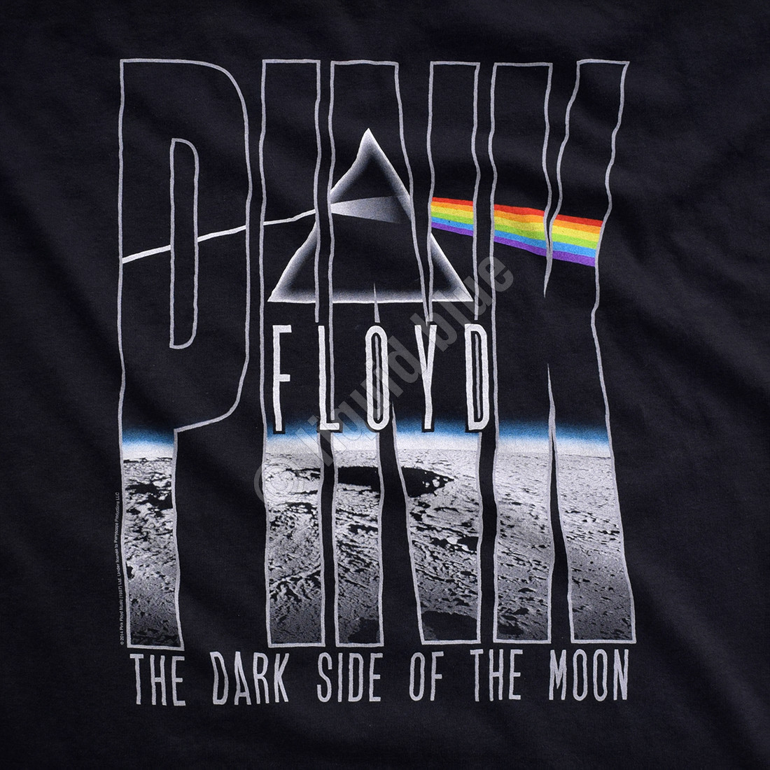 Dark Side Orbit Black T-Shirt
