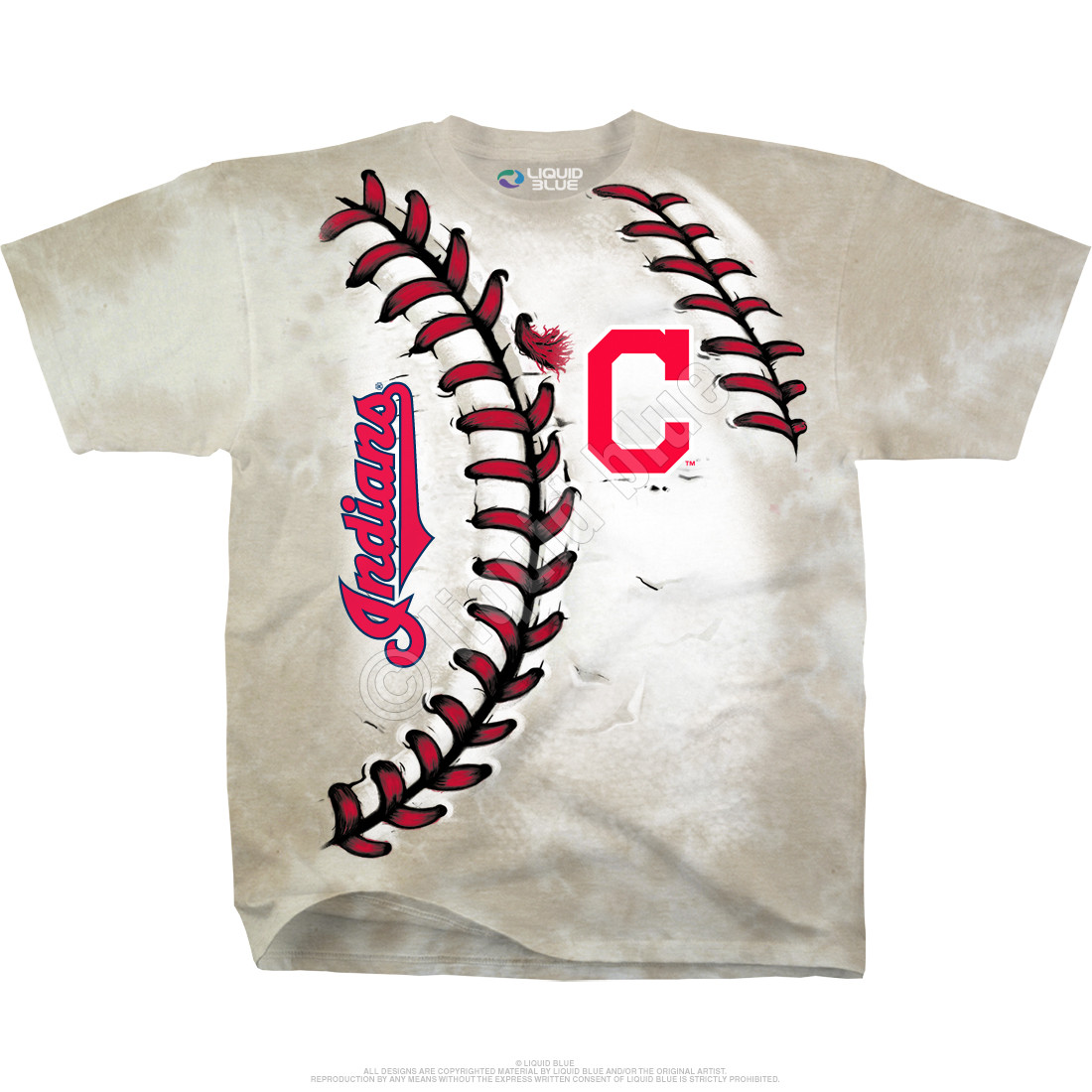 Cleveland Indians Youth Hardball Tie-Dye T-Shirt