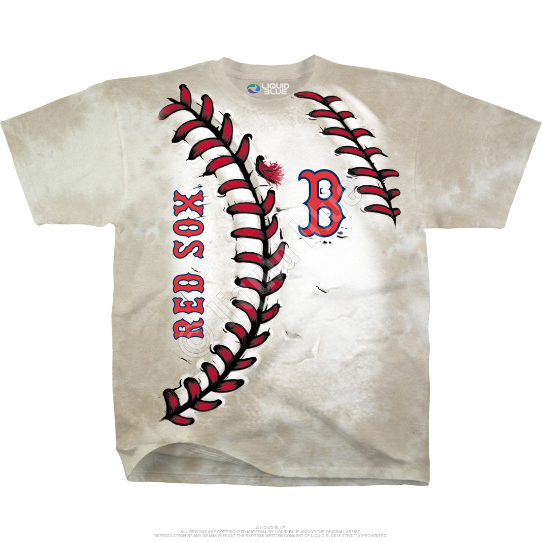 Boston Red Sox Youth Hardball Tie-Dye T-Shirt