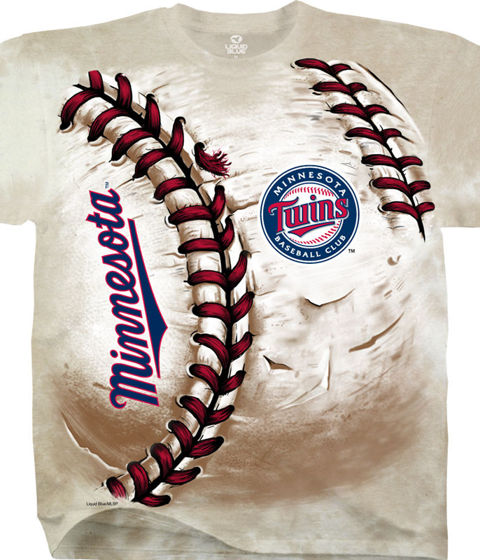 Minnesota Twins Hardball Tie-Dye T-Shirt