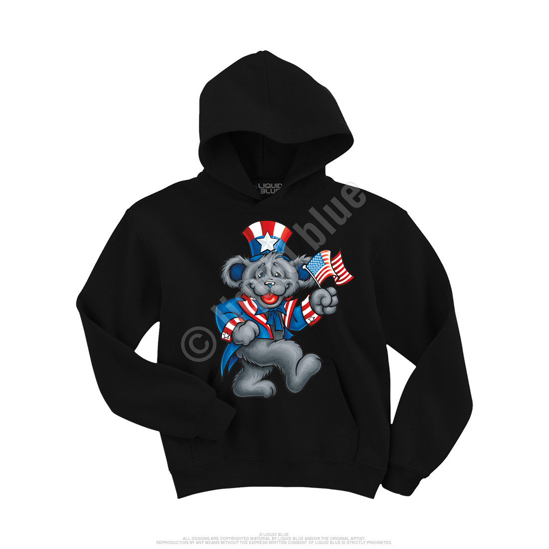 Wave That Flag Custom Hoodie
