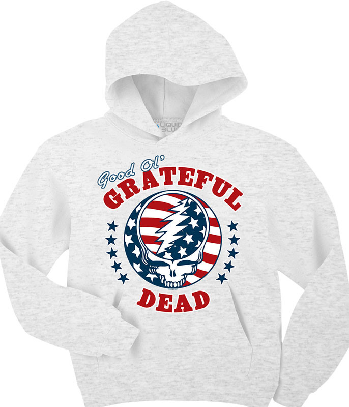 Grateful Dead SYF Independence Custom Hoodie Liquid Blue