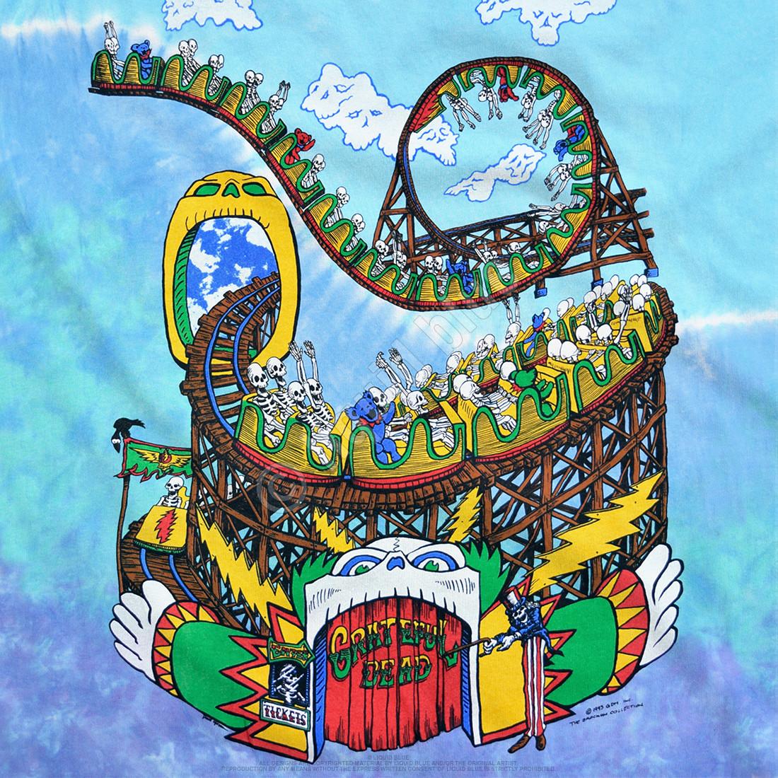Amusement Park Tie-Dye T-Shirt