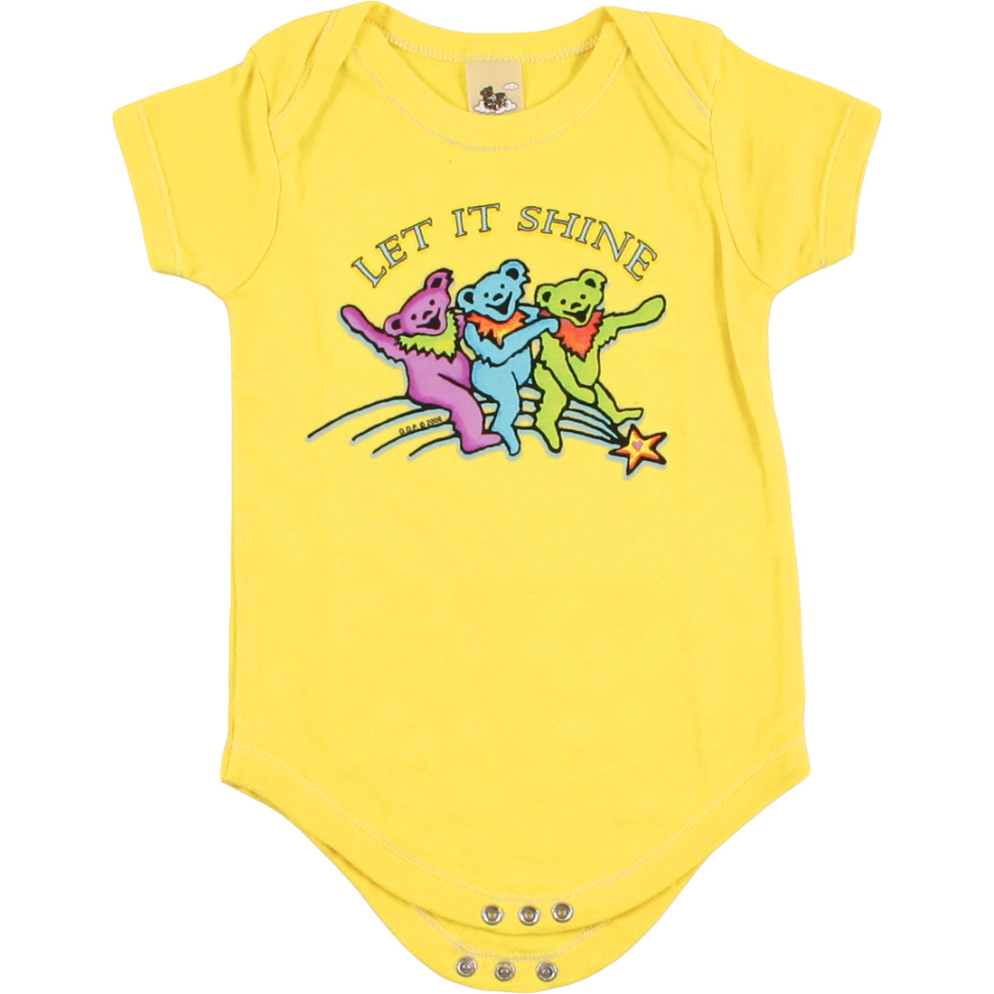 GD Let it Shine Yellow Onesie