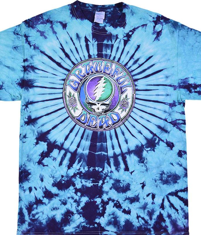 Grateful Dead GD Batik SYF Tie-Dye T-Shirt Tee