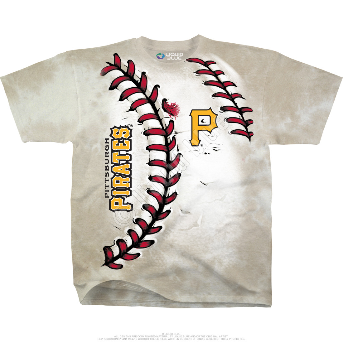 Pittsburgh Pirates Youth Hardball Tie-Dye T-Shirt