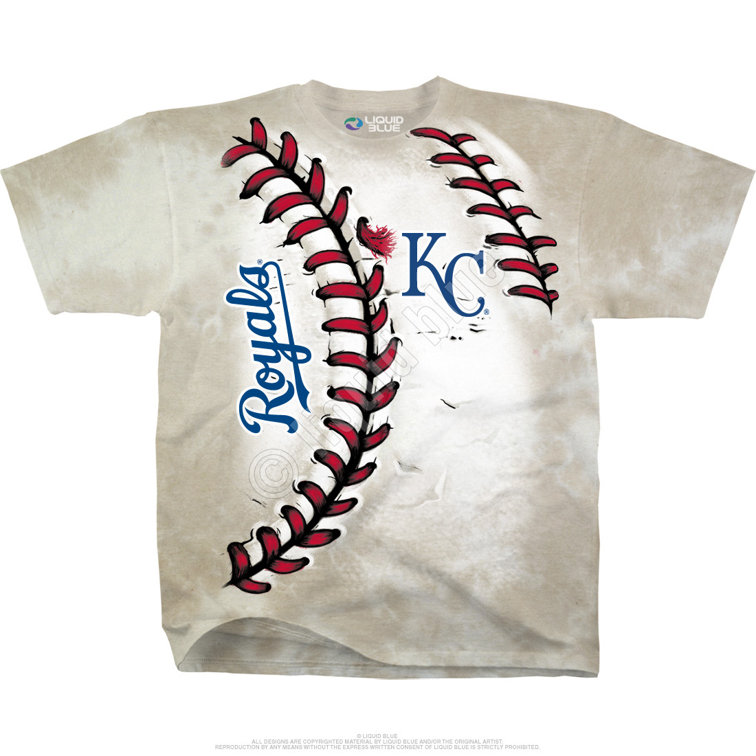 Kansas City Royals Youth Hardball Tie-Dye T-Shirt