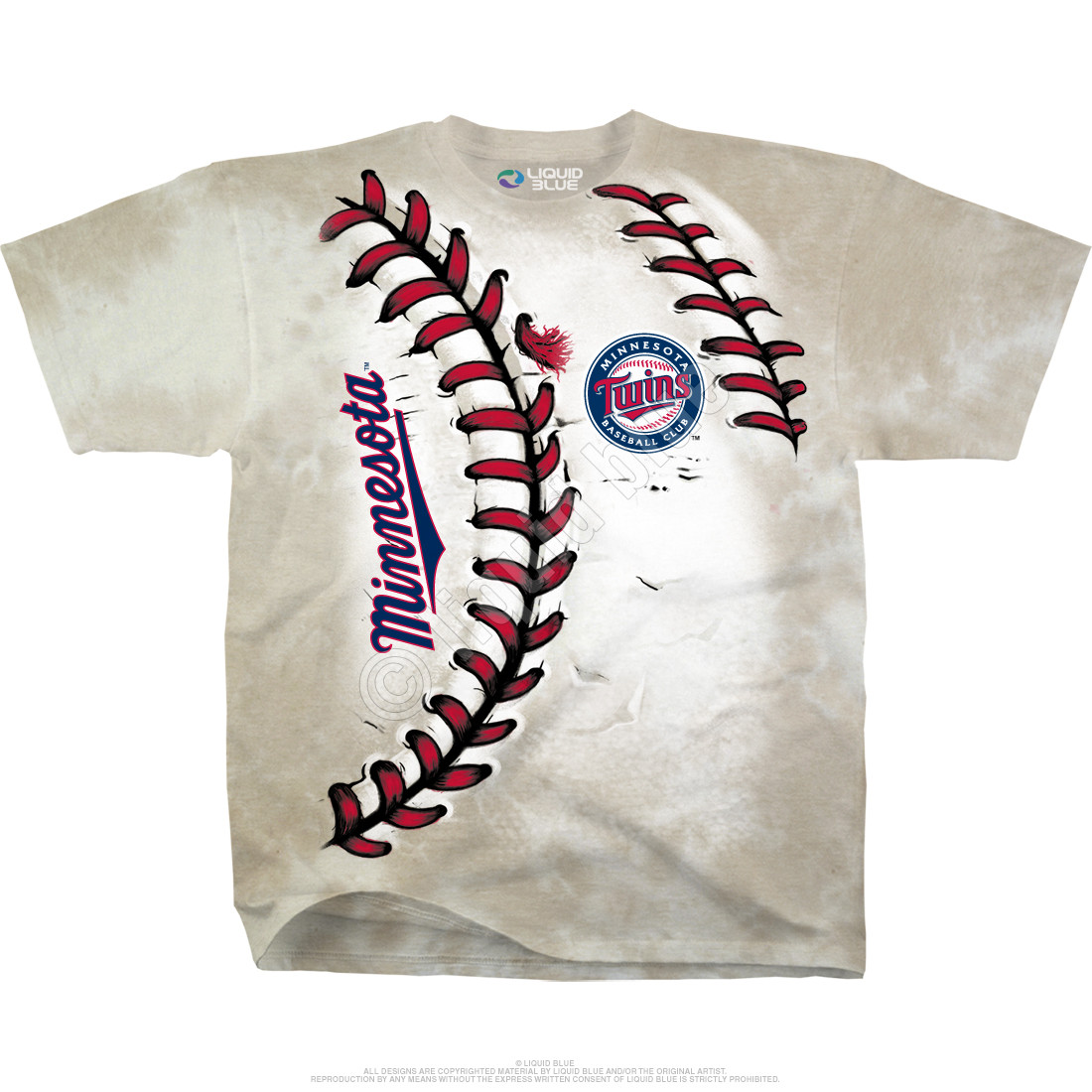 Minnesota Twins Youth Hardball Tie-Dye T-Shirt
