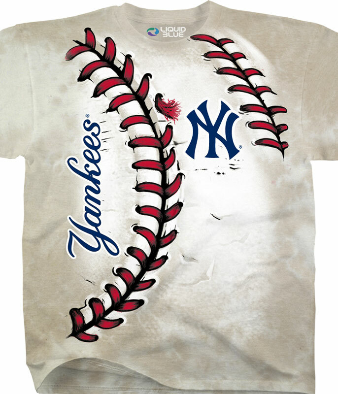 New York Yankees Youth Hardball Tie-Dye T-Shirt