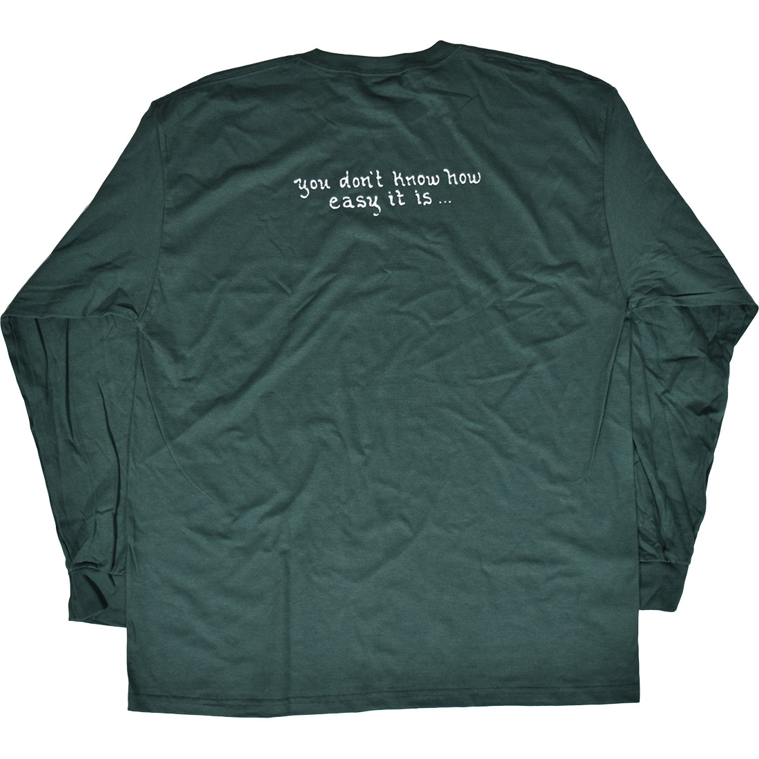 GD Brent Mydland Green Long Sleeve T-Shirt