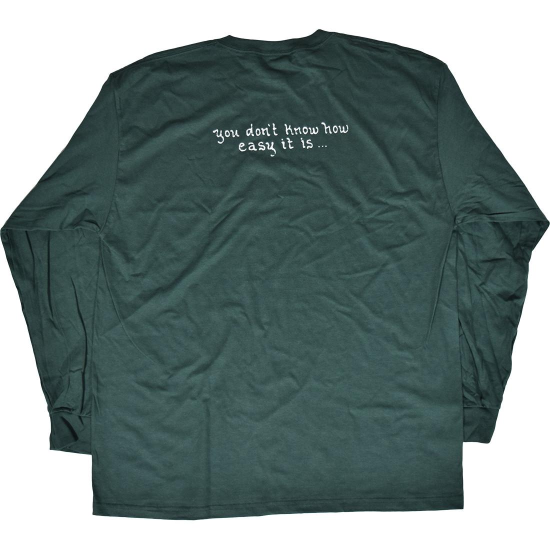 GD Brent Mydland Green Long Sleeve T-Shirt